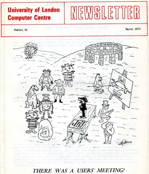 Scan of Document: ULCC News March 1972 Newsletter 41