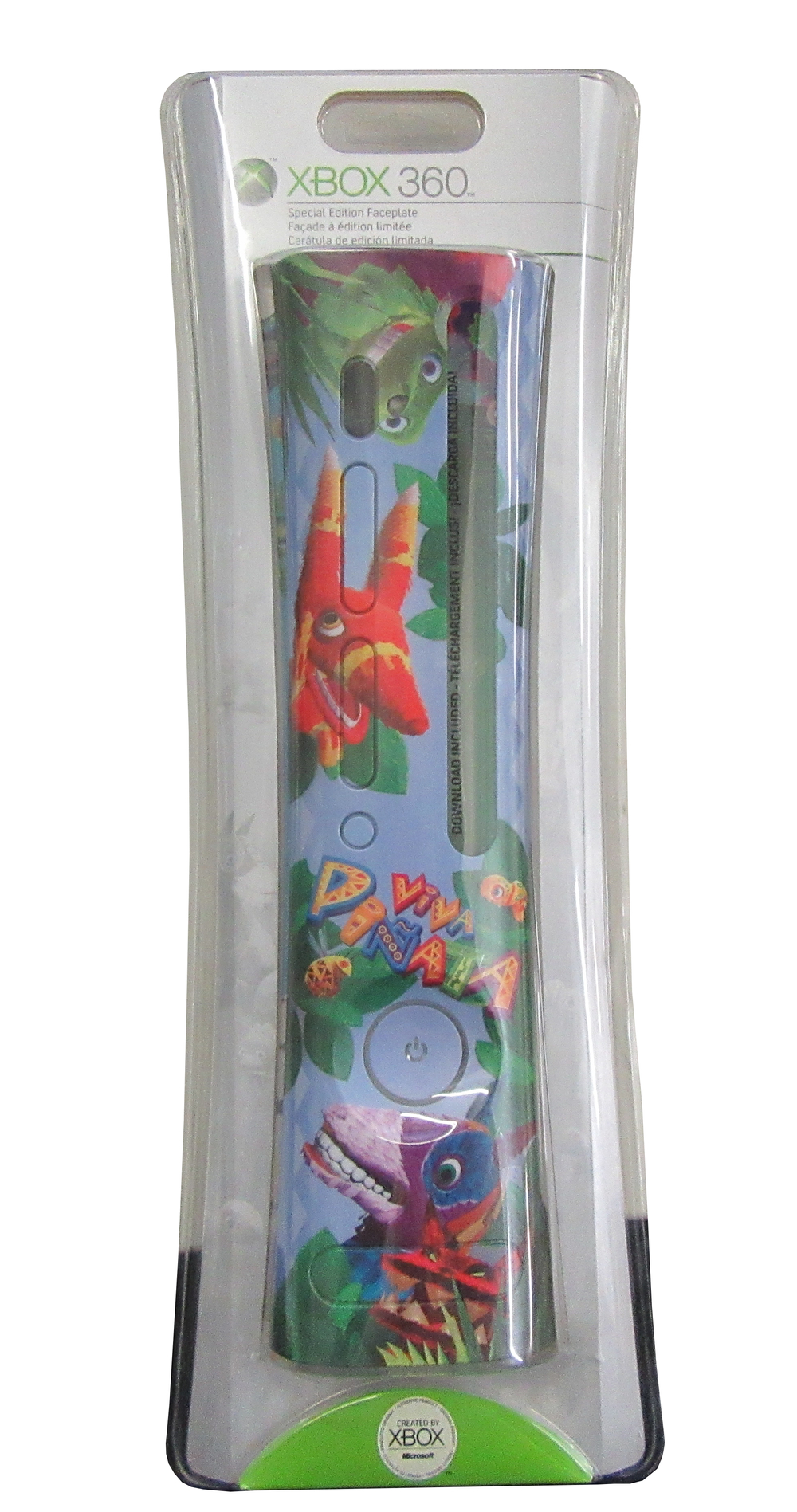 Scan of Document: XBOX 360 Viva Pinata Special Edition Faceplate