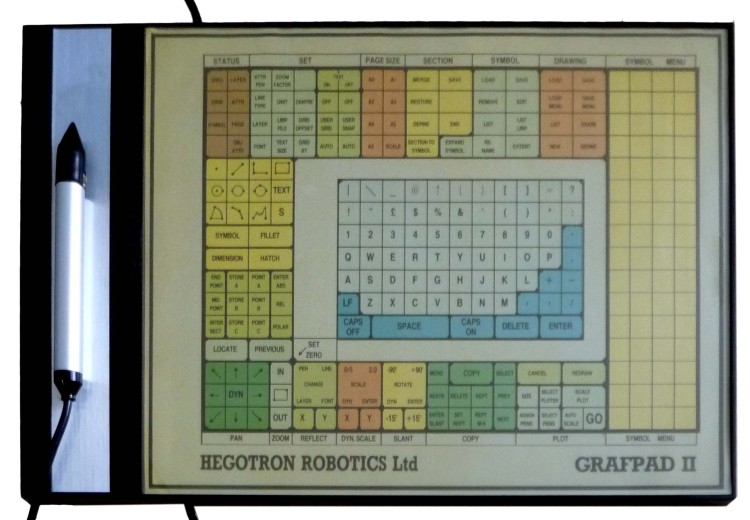 Scan of Document: Hegotron Robotics Grafpad 2