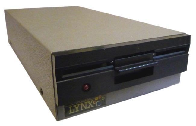 Scan of Document: Camputers Lynx Disk Drive Unit