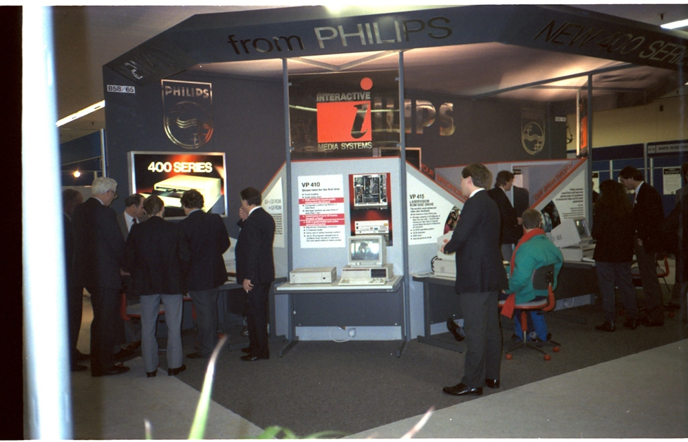 Photograph of Philips Exhibition Stand