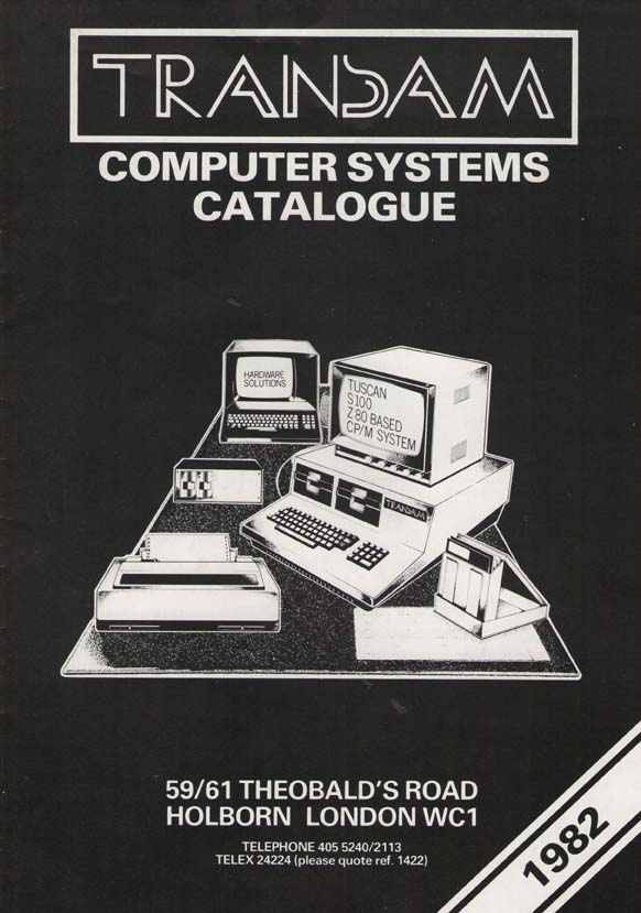 Scan of Document: Transam Computer Systems Catalogue 1982