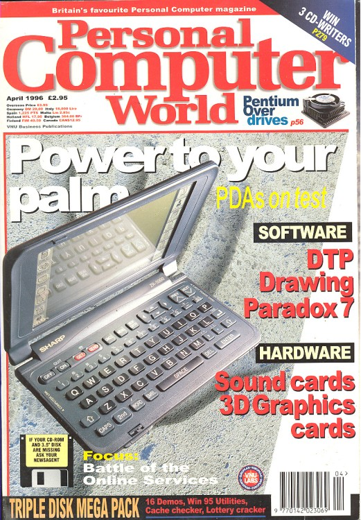 Scan of Document: Personal Computer World - April 1996