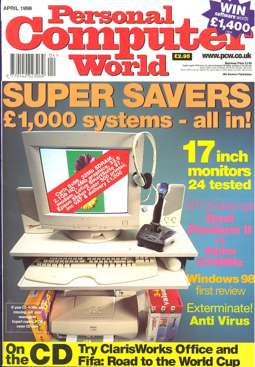 Scan of Document: Personal Computer World - April 1998