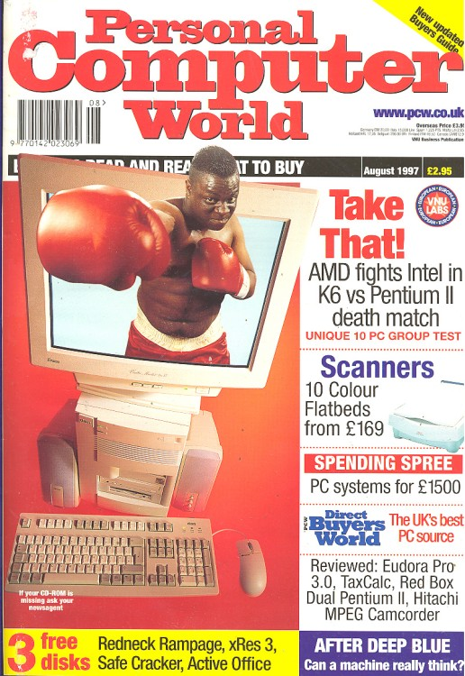 Scan of Document: Personal Computer World - August 1997