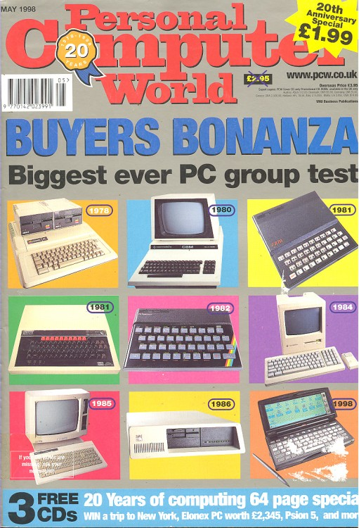 Scan of Document: Personal Computer World - May 1998