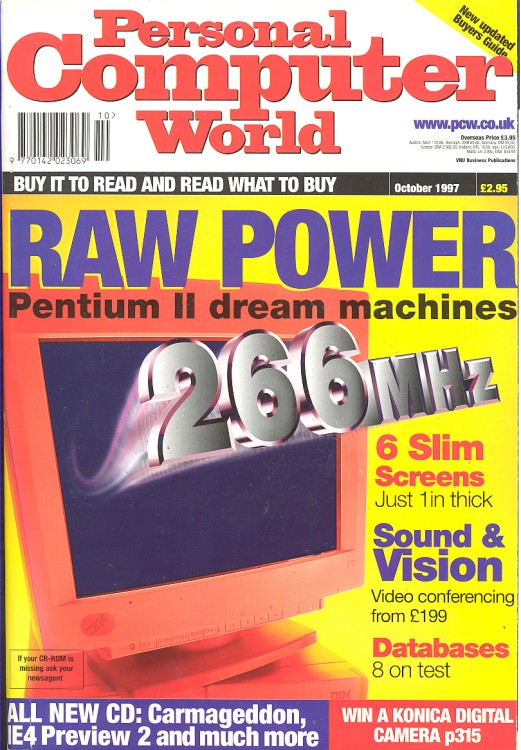 Scan of Document: Personal Computer World - October 1997