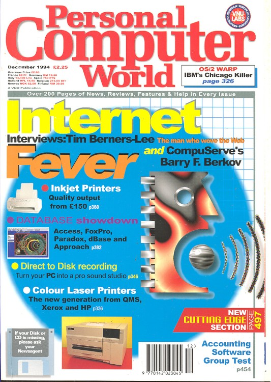 Scan of Document: Personal Computer World - December 1994