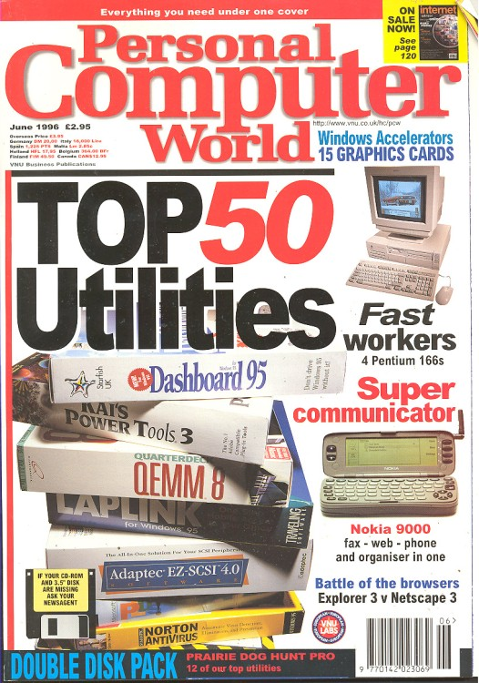 Scan of Document: Personal Computer World - June 1996
