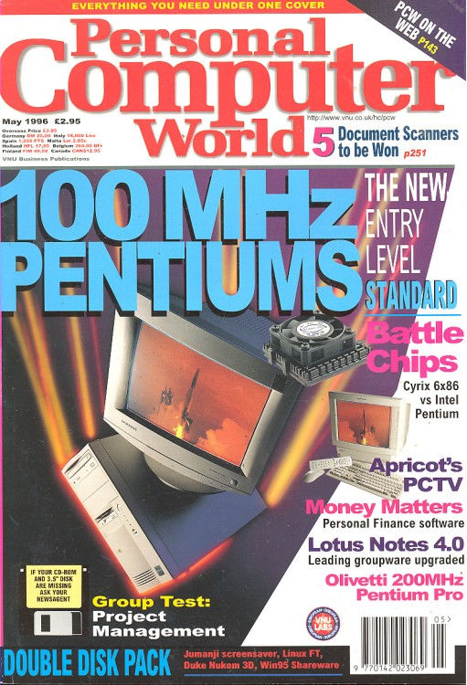 Scan of Document: Personal Computer World - May 1996