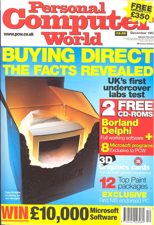 Scan of Document: Personal Computer World - December 1997