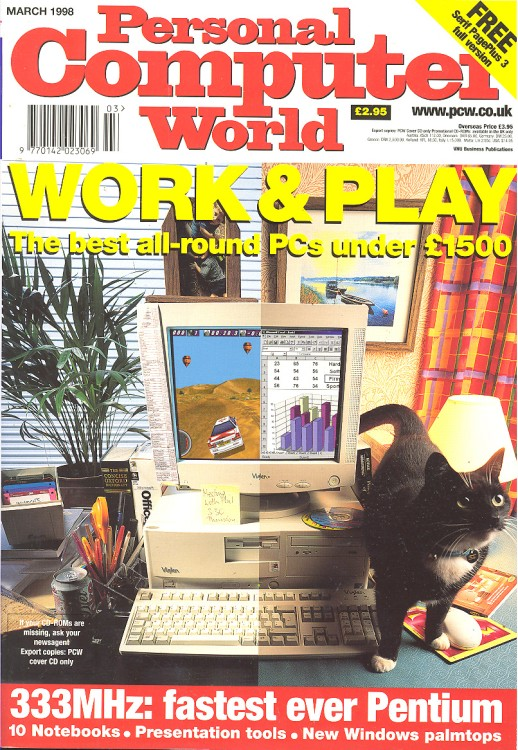 Scan of Document: Personal Computer World - March 1998