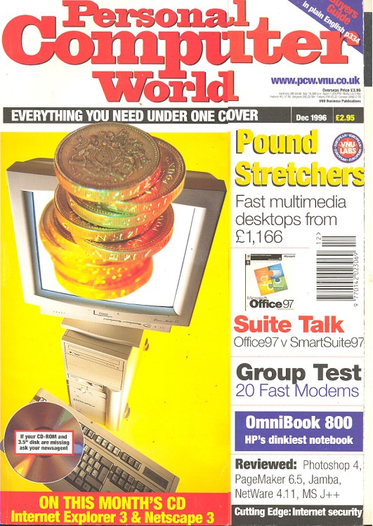 Scan of Document: Personal Computer World - December 1996
