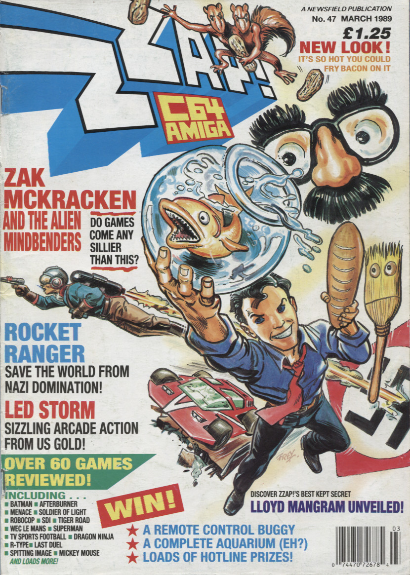 Scan of Document: ZZap! 64 - March 1989