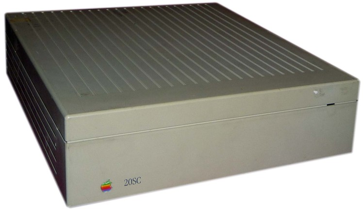 Scan of Document: Apple Hard Disk 20SC
