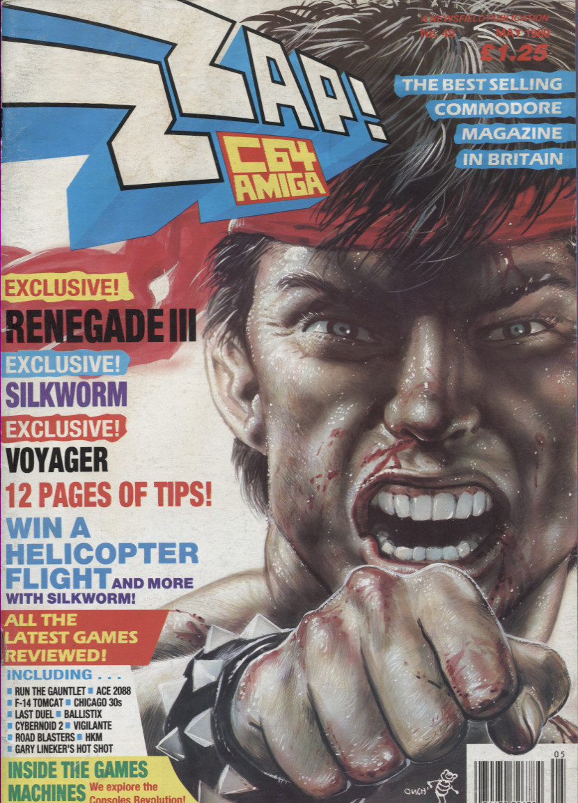 Scan of Document: ZZap! 64 - May 1989
