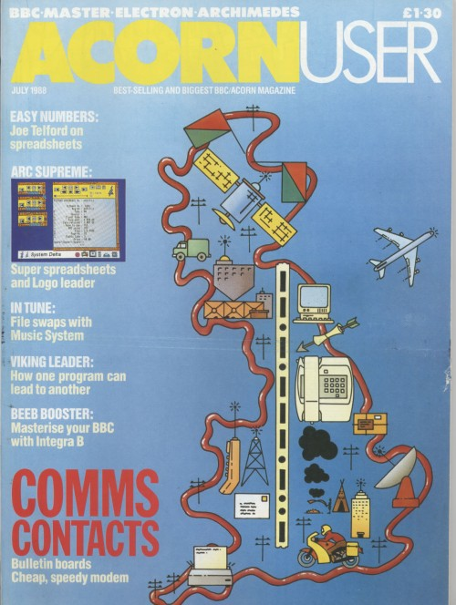 Scan of Document: Acorn User - July 1988