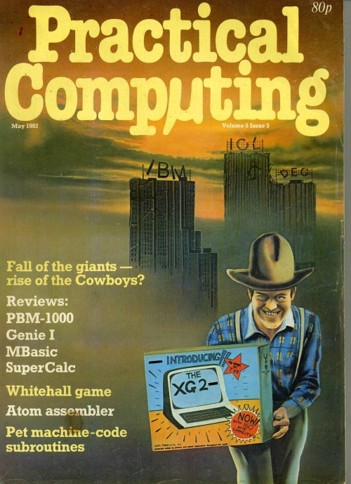 Scan of Document: Practical Computing - May 1982, Volume 5, Issue 5
