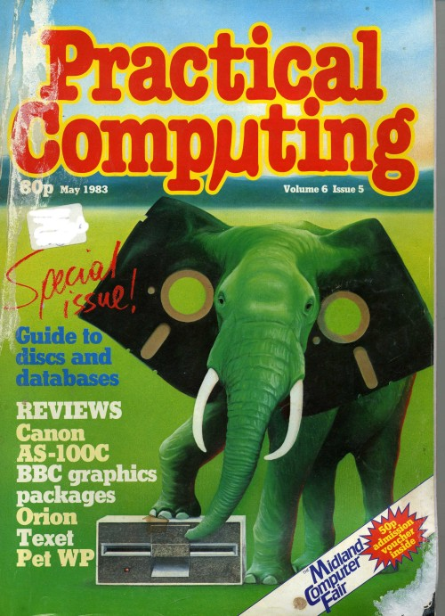 Scan of Document: Practical Computing - May 1983, Volume 6, Issue 5