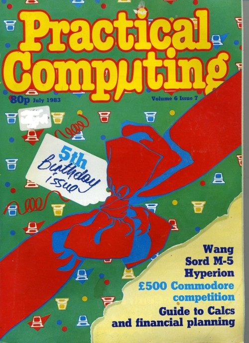 Scan of Document: Practical Computing - July 1983
