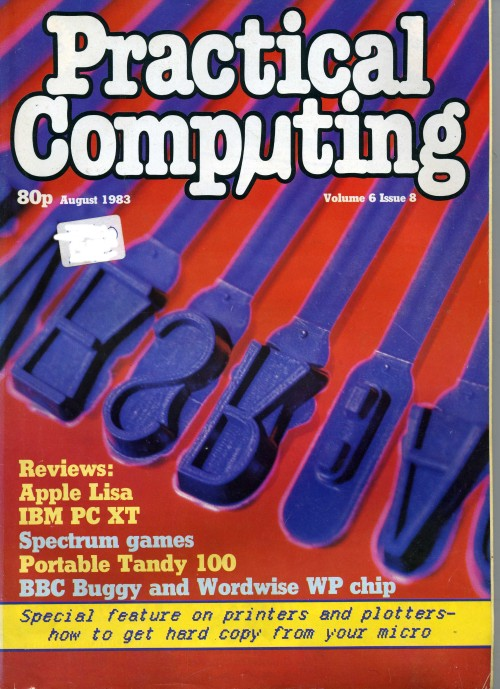Scan of Document: Practical Computing - August 1983