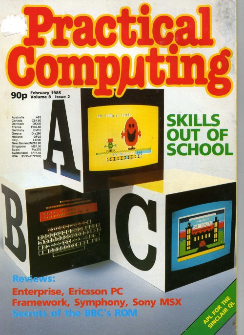 Scan of Document: Practical Computing - February 1985