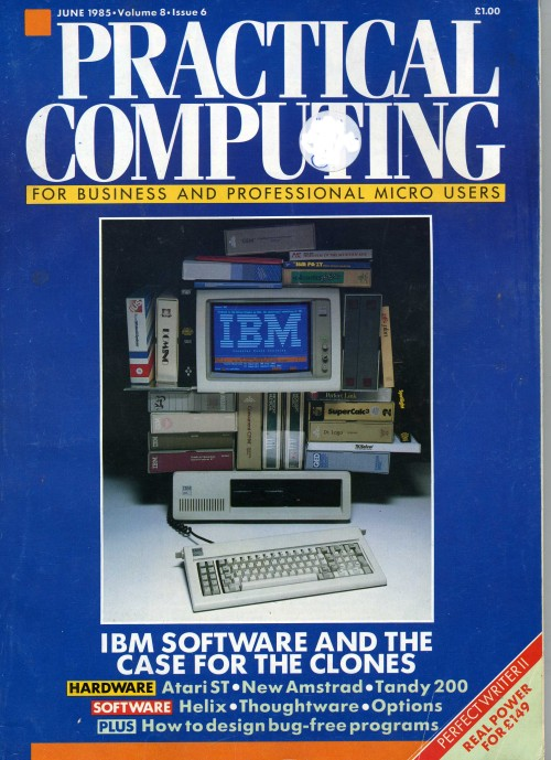 Scan of Document: Practical Computing - June1985