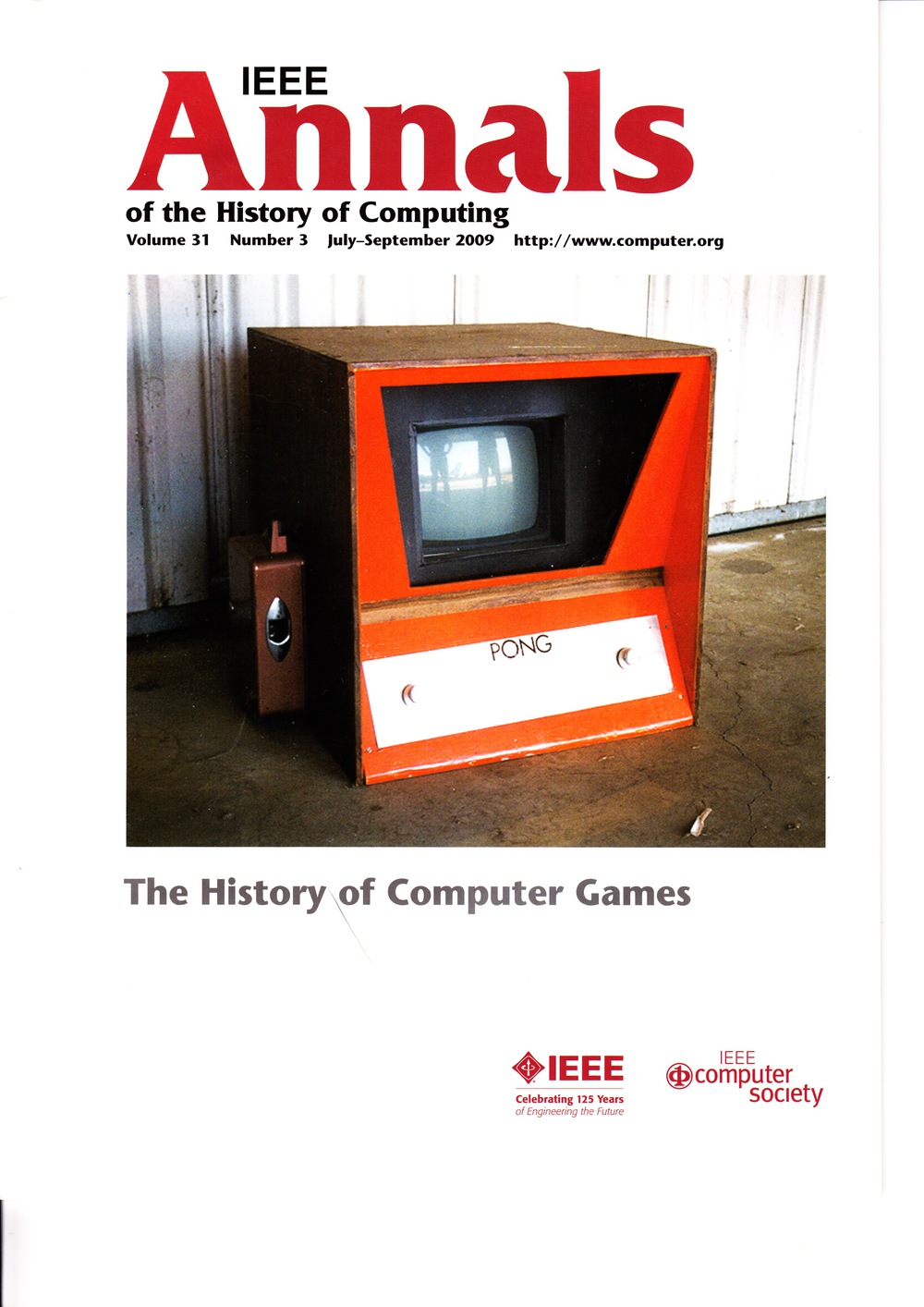 Scan of Document: IEEE Annals of the History of Computing - July-September 2009