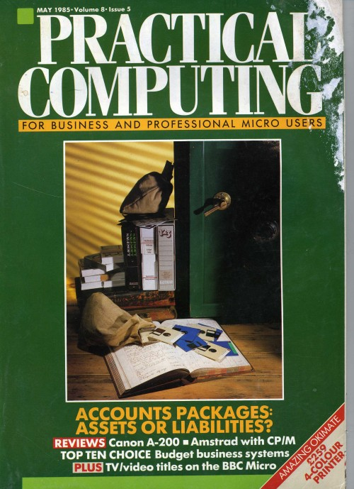 Scan of Document: Practical Computing - May 1985