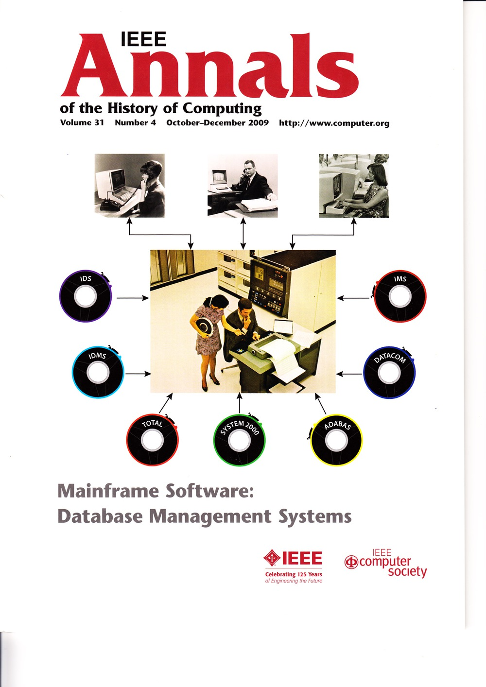 Scan of Document: IEEE Annals of the History of Computing - October-December 2009