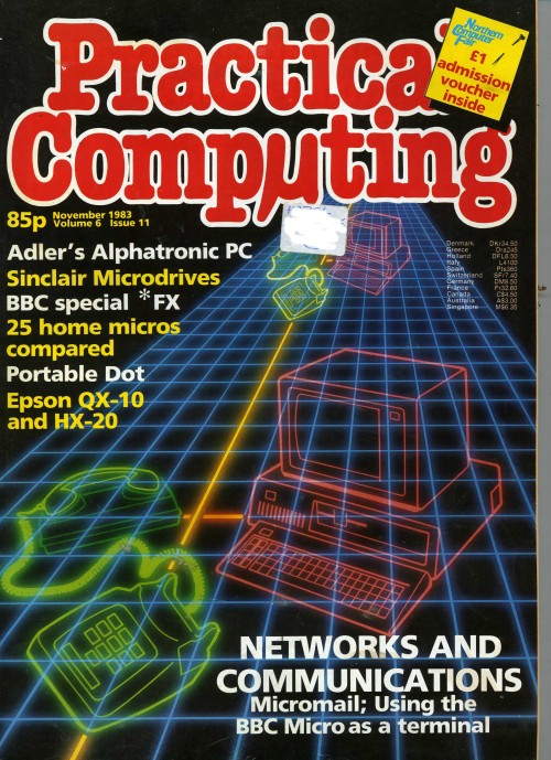 Scan of Document: Practical Computing - November 1983