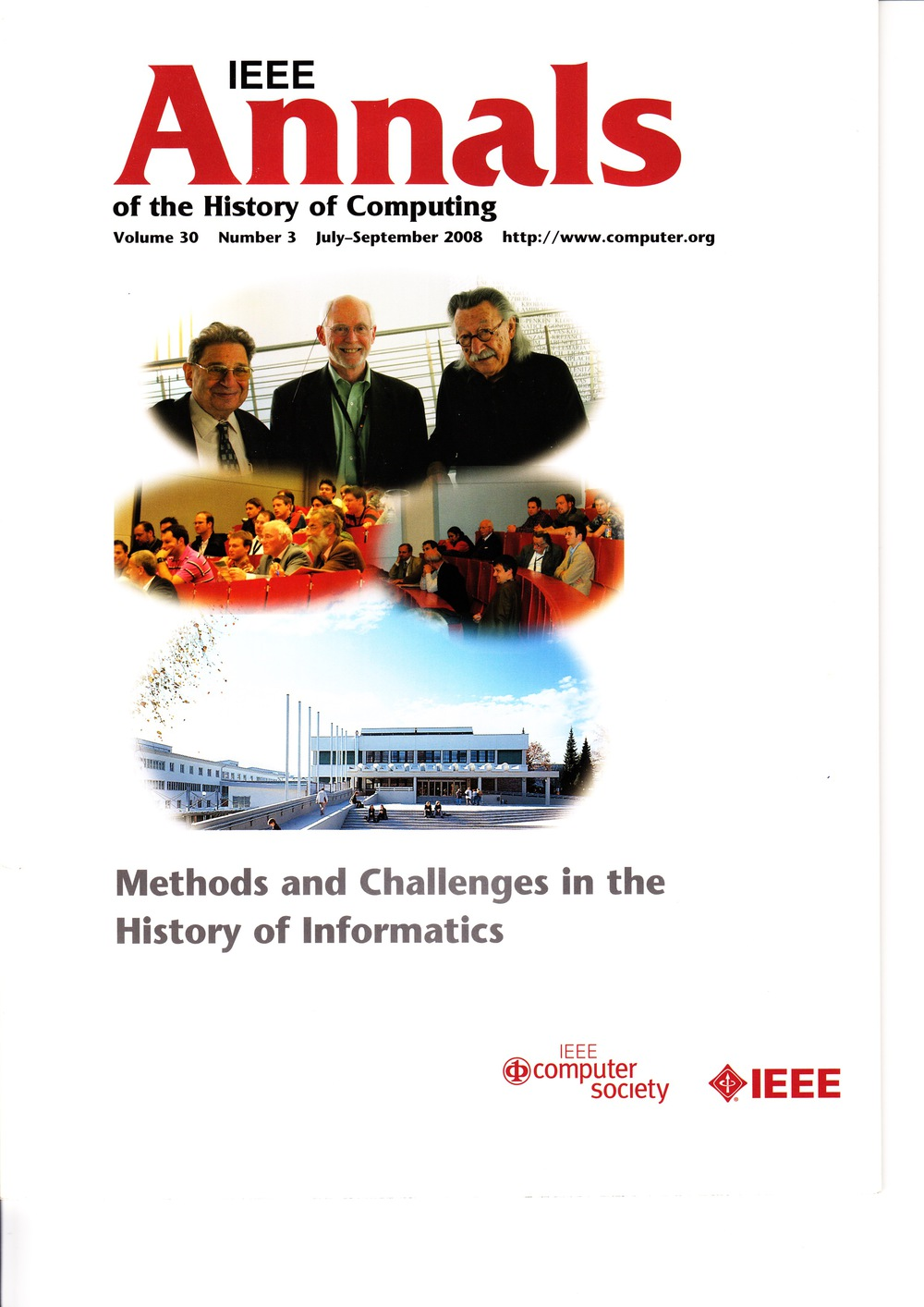 Scan of Document: IEEE Annals of the History of Computing - July-September 2008