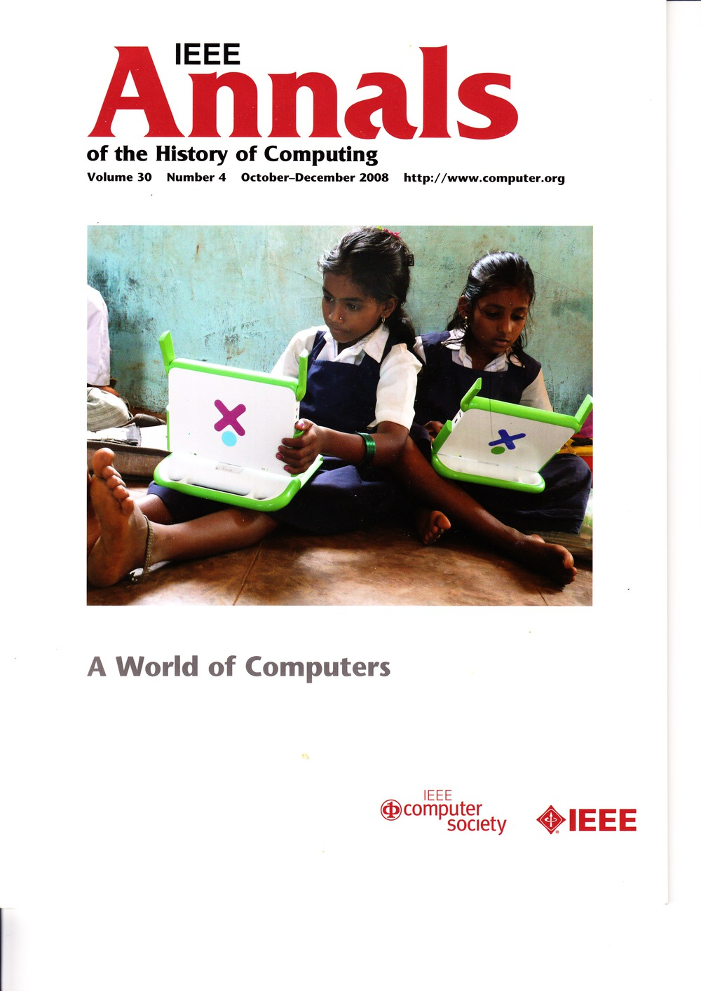 Scan of Document: IEEE Annals of the History of Computing - October-December 2008