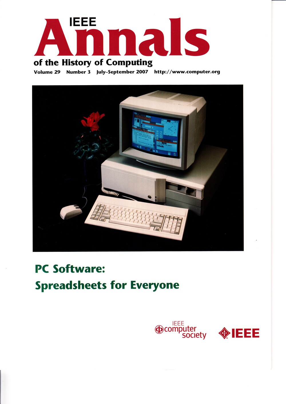 Scan of Document: IEEE Annals of the History of Computing - July-September 2007