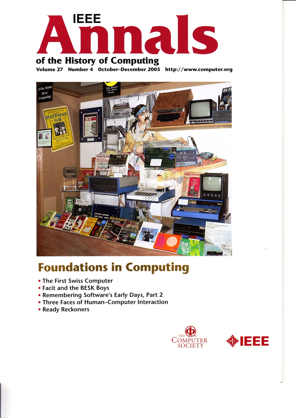 Scan of Document: IEEE Annals of the History of Computing - October-December 2005