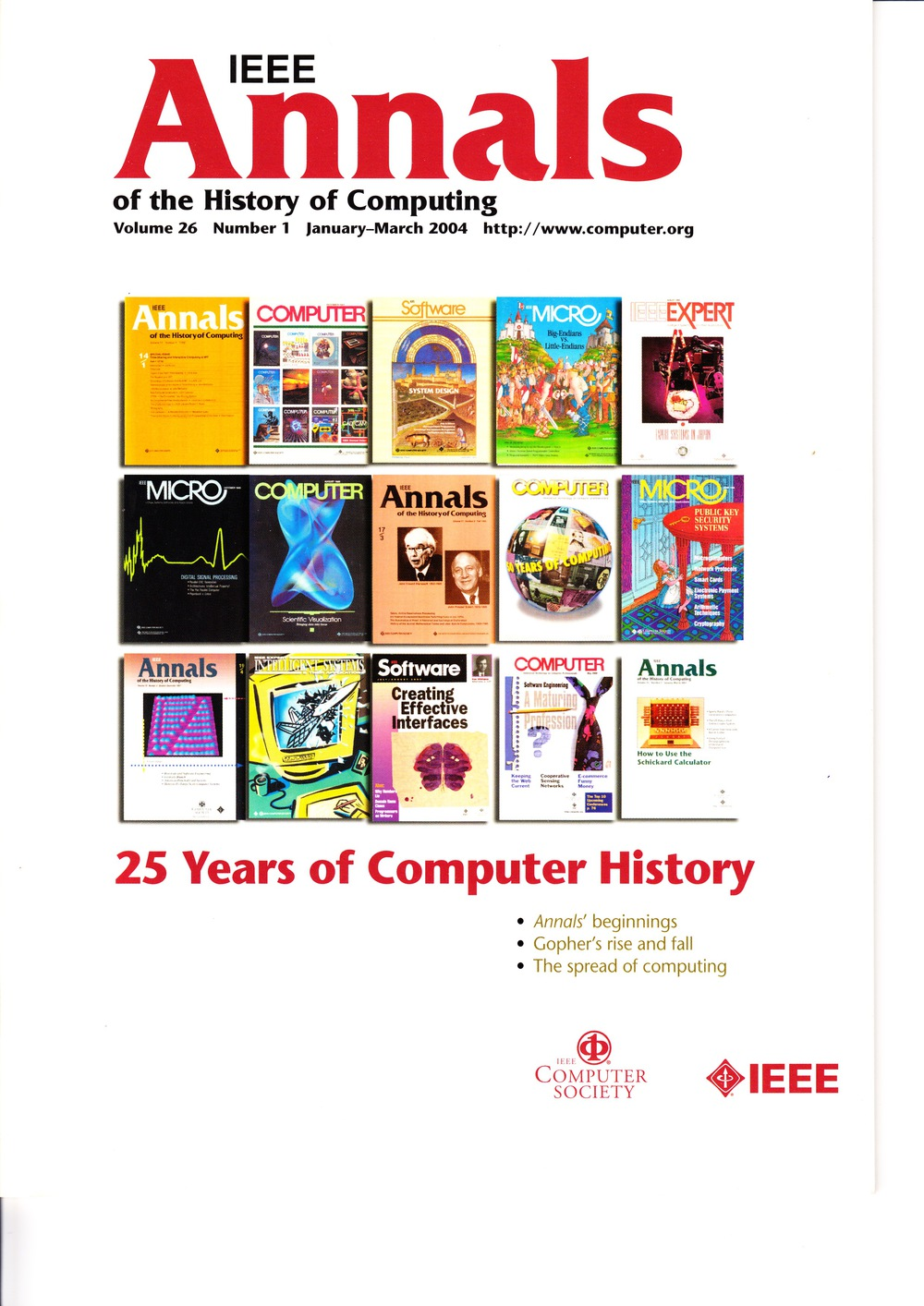 Scan of Document: IEEE Annals of the History of Computing - January-March 2004