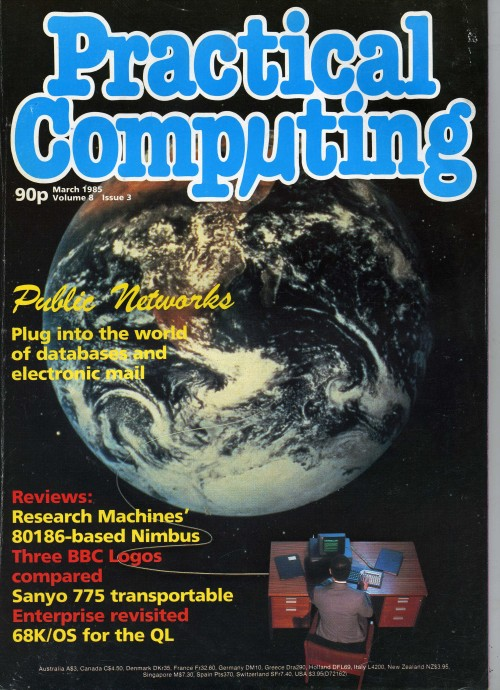 Scan of Document: Practical Computing - March 1985