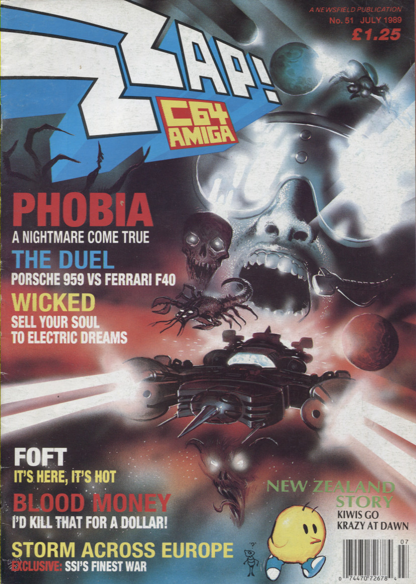 Scan of Document: ZZap! 64 - July 1989
