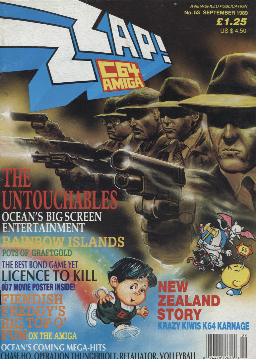 Scan of Document: ZZap! 64 - September 1989