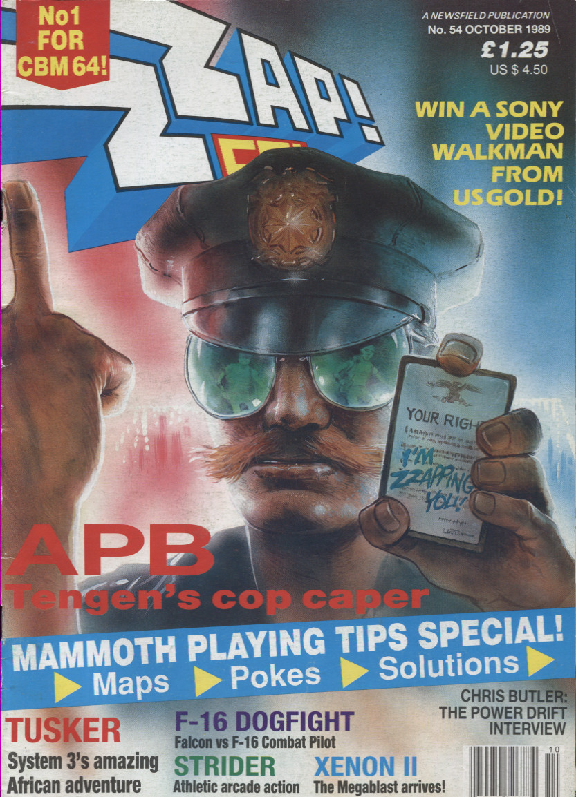 Scan of Document: ZZap! 64 - October 1989