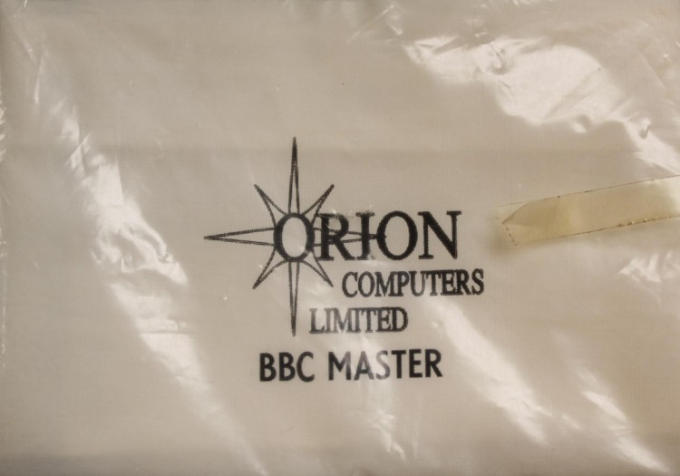 Scan of Document: Orion Computers BBC Master Dust Cover
