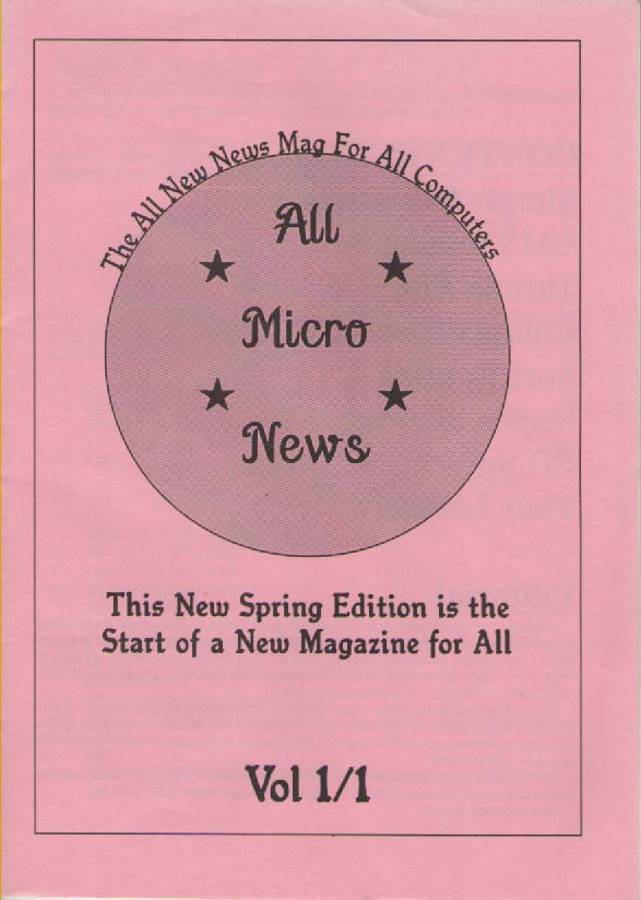 Scan of Document: All Micro News