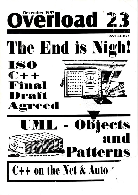 Scan of Document: Overload - Issue 23 - December 1997