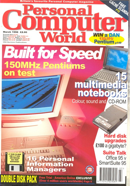 Scan of Document: Personal Computer World - March 1996