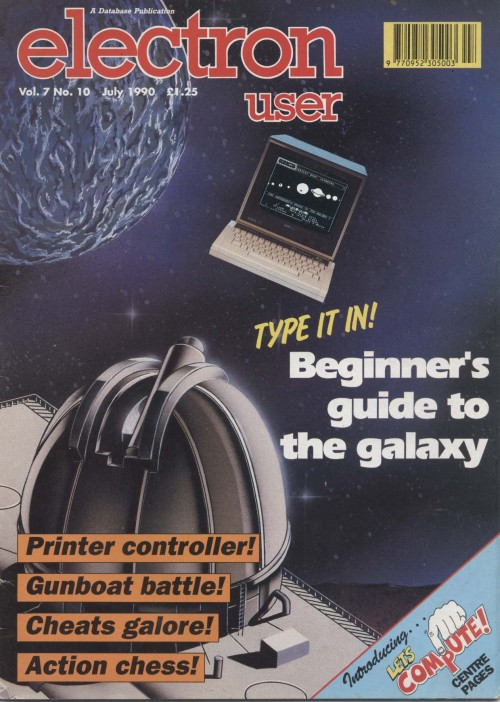 Scan of Document: Electron User - July 1990