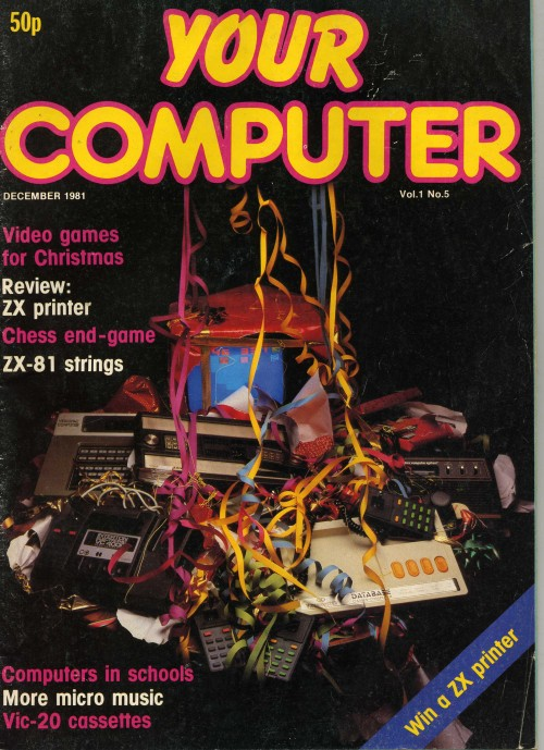 Scan of Document: Your Computer - December 1981