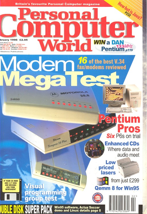 Scan of Document: Personal Computer World - February 1996