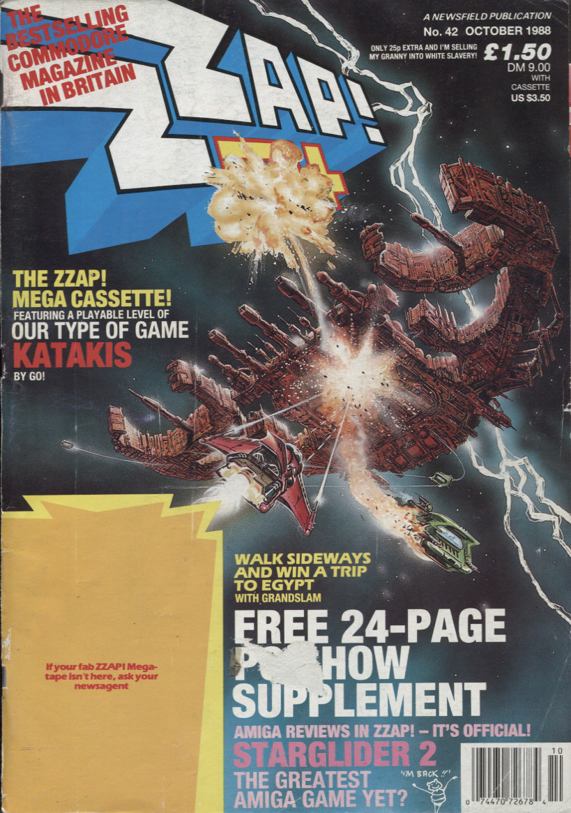 Scan of Document: COPY OF Zzap! 64 - October 1988
