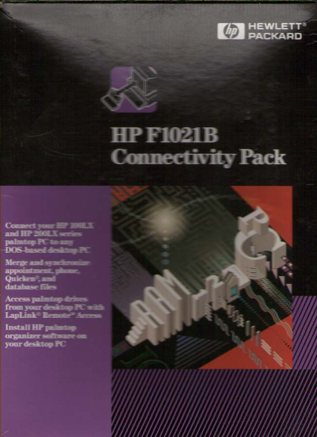 Scan of Document: HP F1021B Connectivity Kit