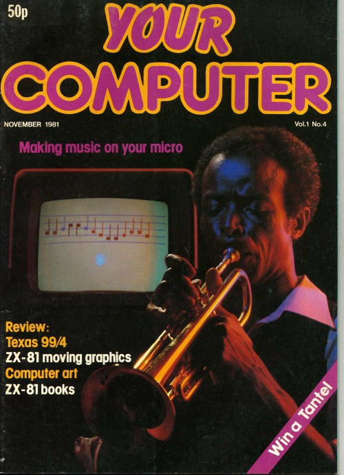 Scan of Document: Your Computer - November 1981